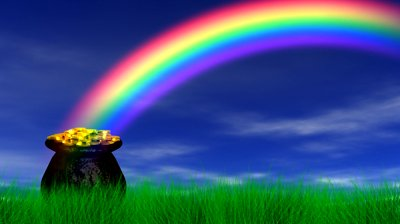 stock-footage-pot-of-gold-at-end-rainbow-reveal-loop